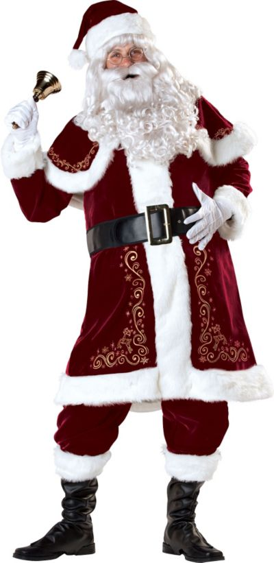 Adult Jolly Ole St. Nick Costume
