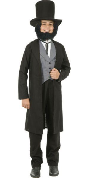 Teen Boys Abe Lincoln Costume