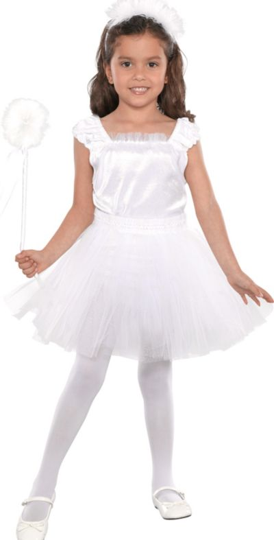 Toddler Girls Ivory Butterfly Fairy Costume