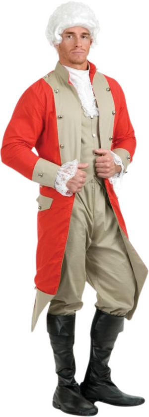 Adult British Red Coat Costume
