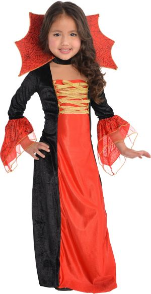 Little Girls Gothic Princess Costume