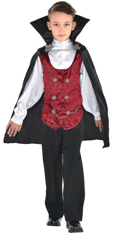 Boys Dark Vampire Costume