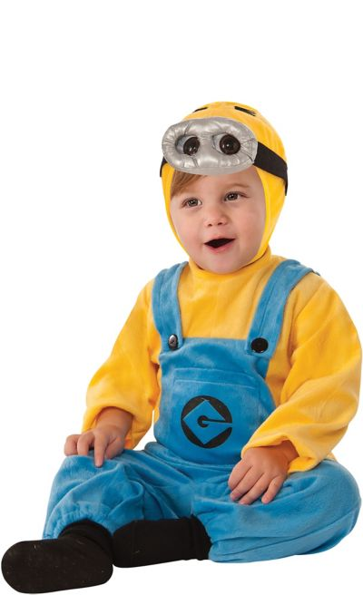Toddler Boys Dave Minion Costume - Despicable Me 2
