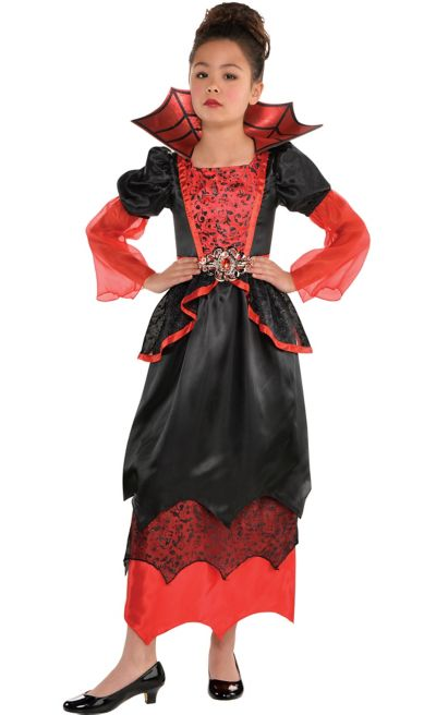 Girls Vampire Queen Costume
