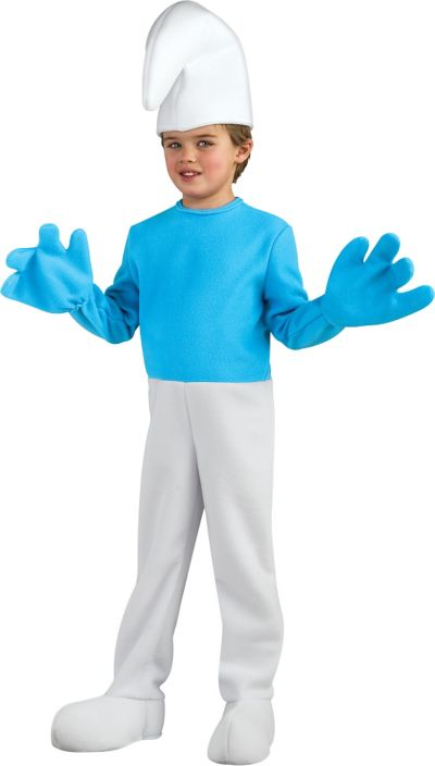 Boys Smurf Costume Deluxe - The Smurfs 2