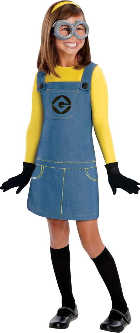 Minion Halloween Costume For Girls Girls Minion Costume