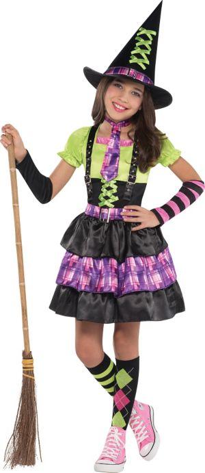 Girls Spellbound Witch Costume