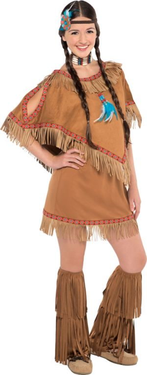 Teen Girls Native American Princess Costume