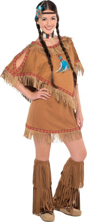 Teen Girls Native Princess Costume