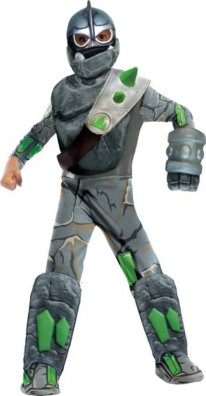Boys Crusher Costume Deluxe - Skylanders