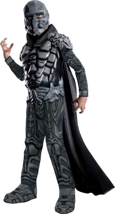 Boys General Zod Costume Deluxe Man of Steel - Superman