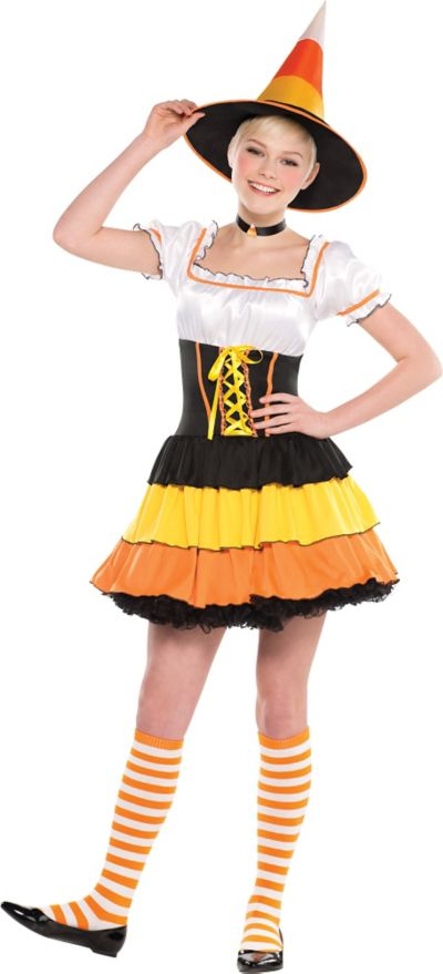 Teen Girls Candy Corn Cutie Costume