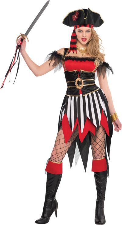 Adult Shipwreck Treasure Pirate Costume