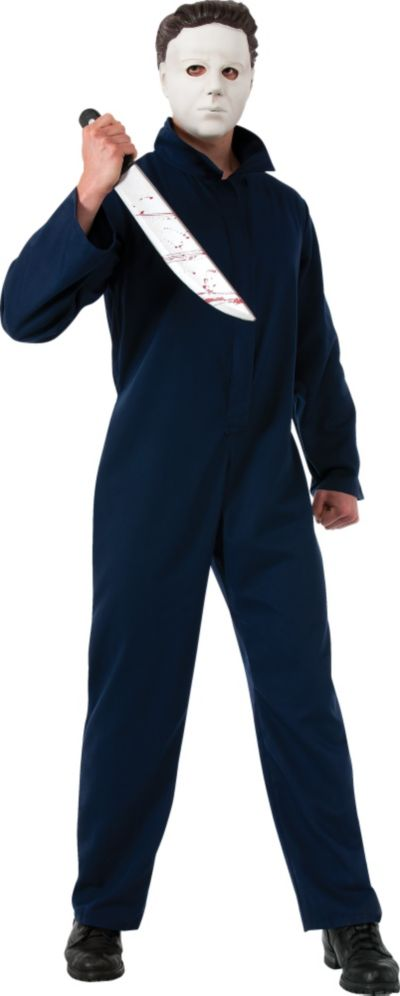 Adult Michael Myers Costume Deluxe - Halloween