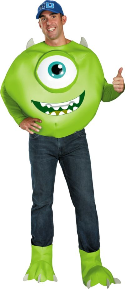 Adult Mike Costume Deluxe - Monsters University