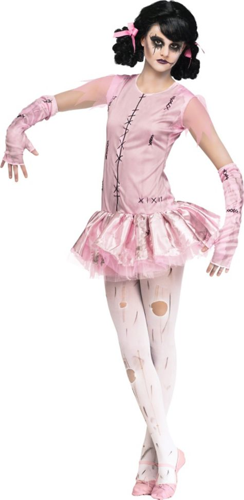 Halloween zombie costumes for girls images for Cool halloween costumes for kids girls