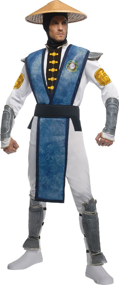 Adult Raiden Costume - Mortal Kombat