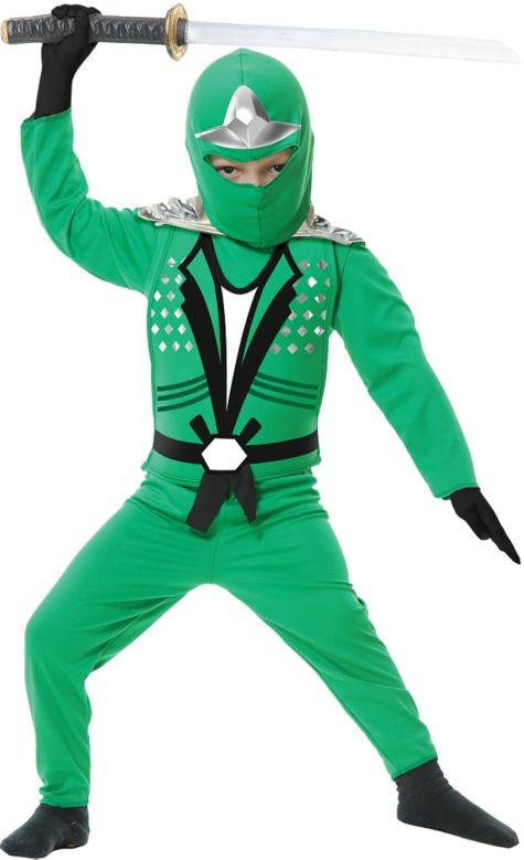 Kids and toddler cobra ninja costume