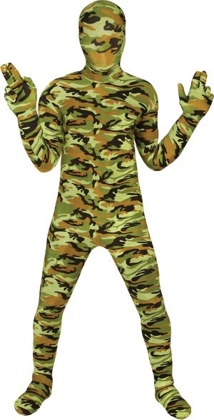 Boys Commando Morphsuit