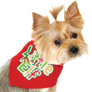 Little Elf Dog Bandana