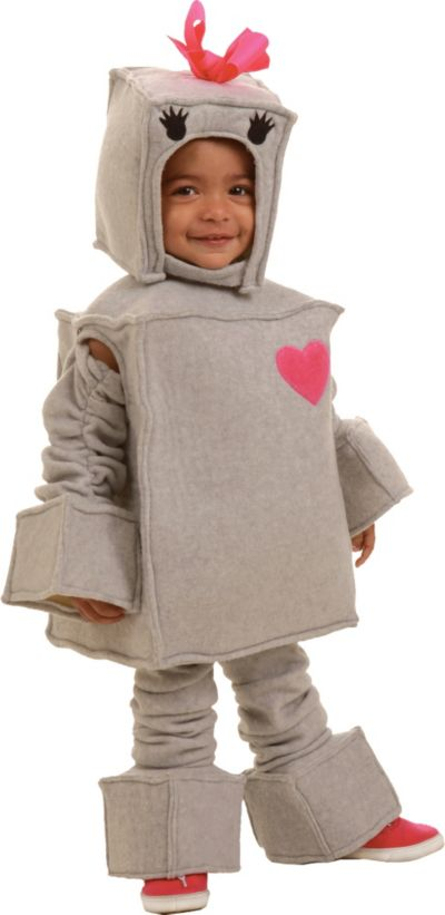 Toddler Girls Rosalie the Robot Costume