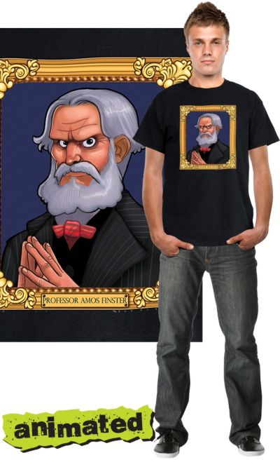 Haunted Mansion Frame Animated T-Shirt