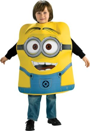 Boys Minion Dave Costume - Despicable Me 2