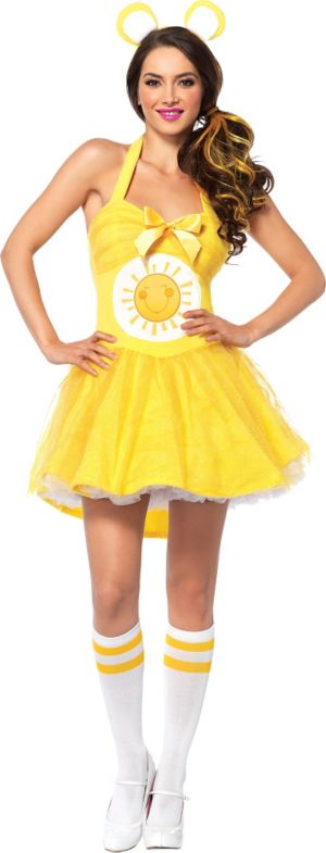 Adult Sunshine Bear Costume - Care Bears