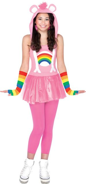 Teen Girls Cheer Bear Costume - Care Bears