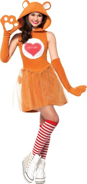 Teen Girls Tenderheart Bear Costume - Care Bears