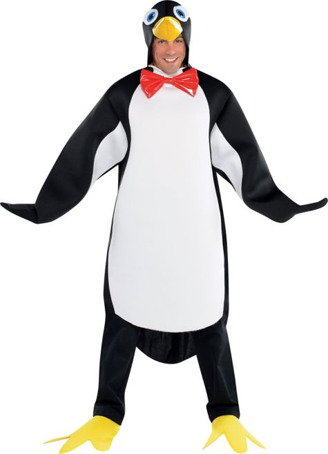 Animals Costumes Adults Adult Penguin Pal Costume