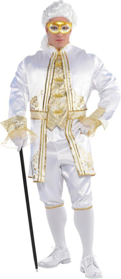 Adult Gentleman Venetian Costume Plus Size