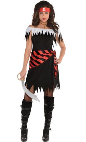 Adult Ahoy Katie Pirate Costume