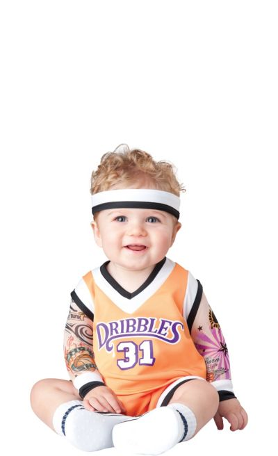 Baby Double Dribble Basketball Player Costume