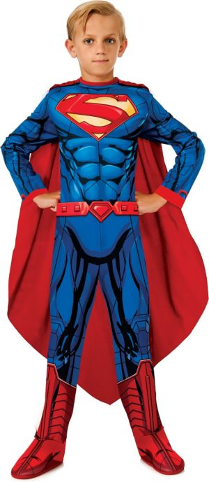 Boys Comic Superman Costume