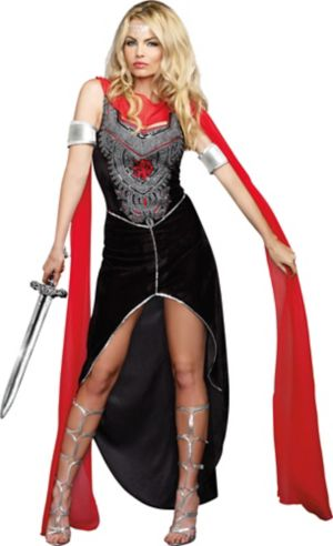 Adult Scandalous Sword Warrior Costume