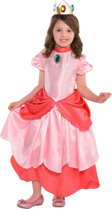 Anime Costumes Girls Girls Princess Peach Costume