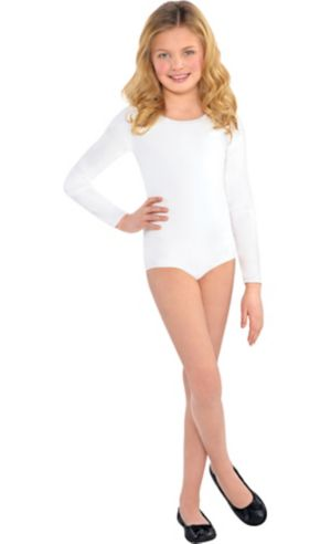 Child White Bodysuit