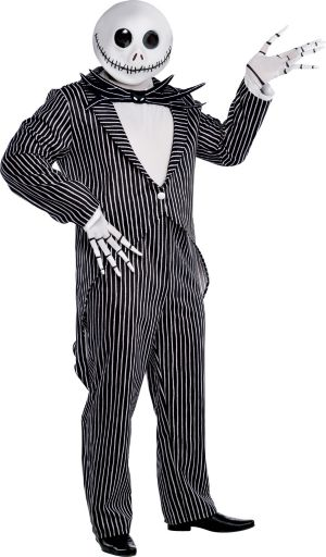 Adult Jack Skellington Costume Plus Size - The Nightmare Before Christmas