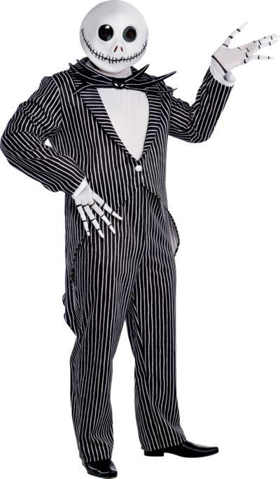 Adult Jack Skellington Costume Plus Size - The Nightmare Before Christmas