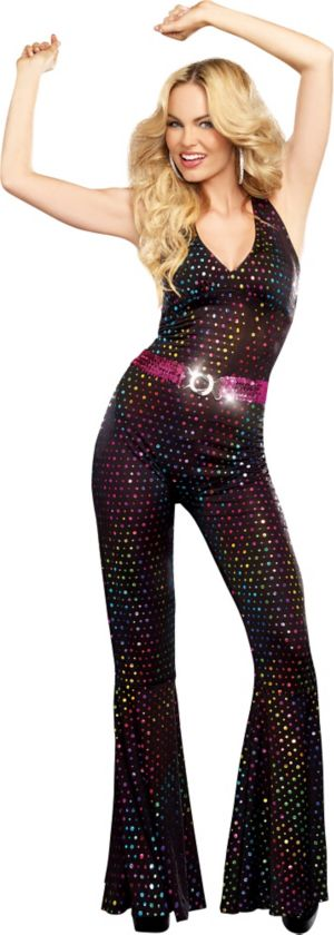 Adult Disco Doll Costume