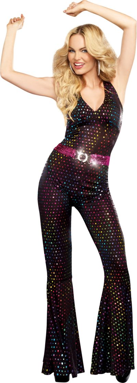 Adult Disco Doll Costume