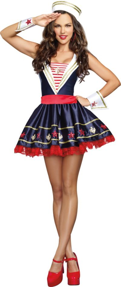 Adult Shore Thing Sailor Costume