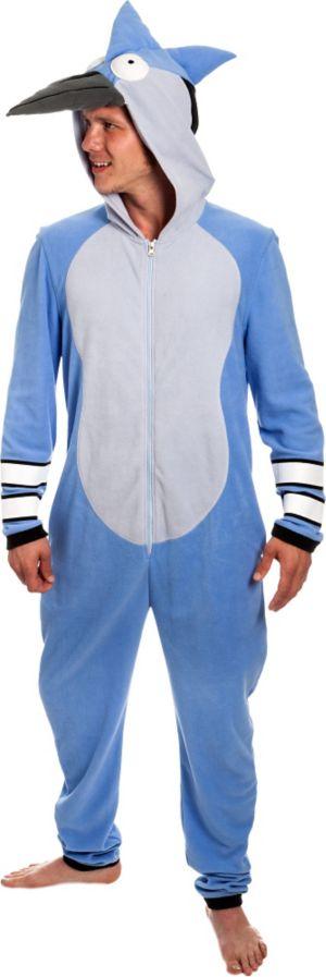 Mordecai One Piece Costume- Regular Show