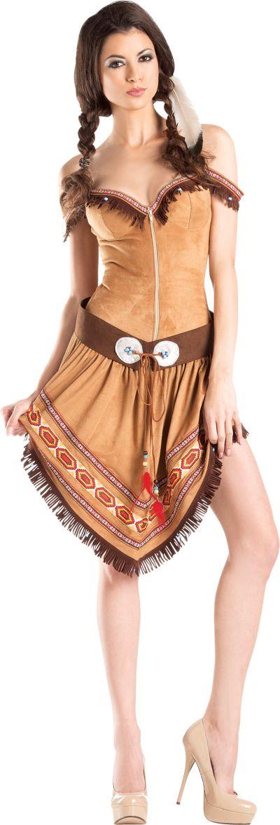 Adult Native American Princess Body Shaper Costume