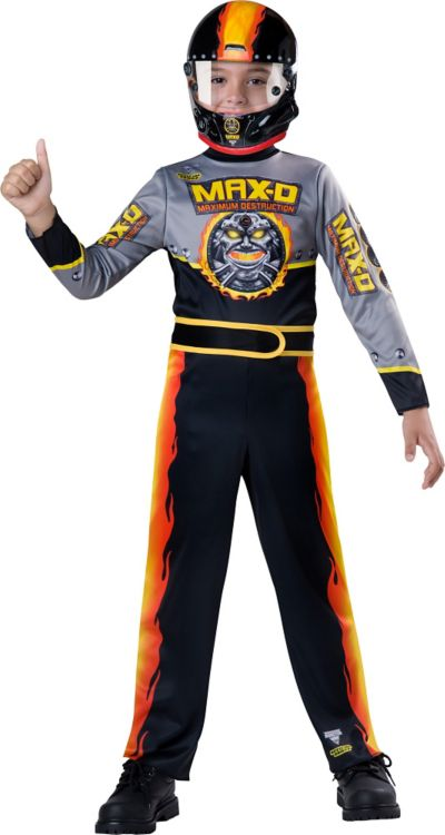 Boys Max-D Driver Costume - Monster Jam