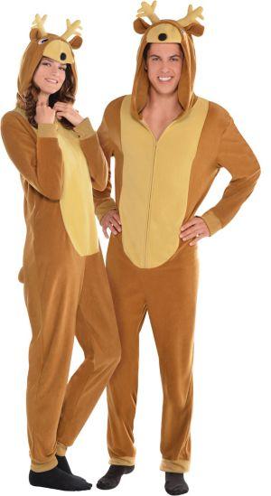 Zipster Reindeer One Piece Costume