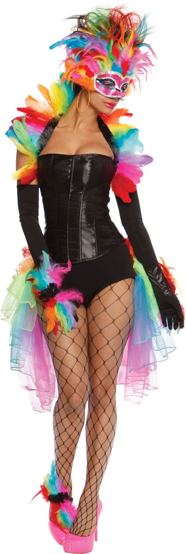 Adult Rainbow Bird Costume