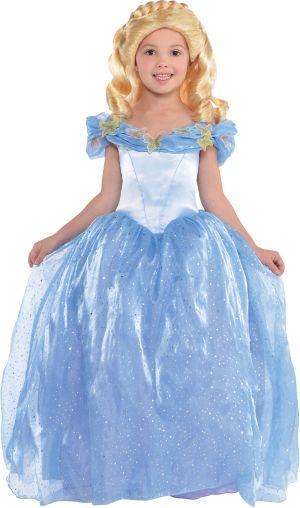 Toddler Girls Cinderella Costume - Disney Cinderella Movie