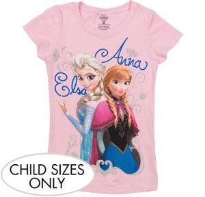 Elsa & Anna T-Shirt - Frozen